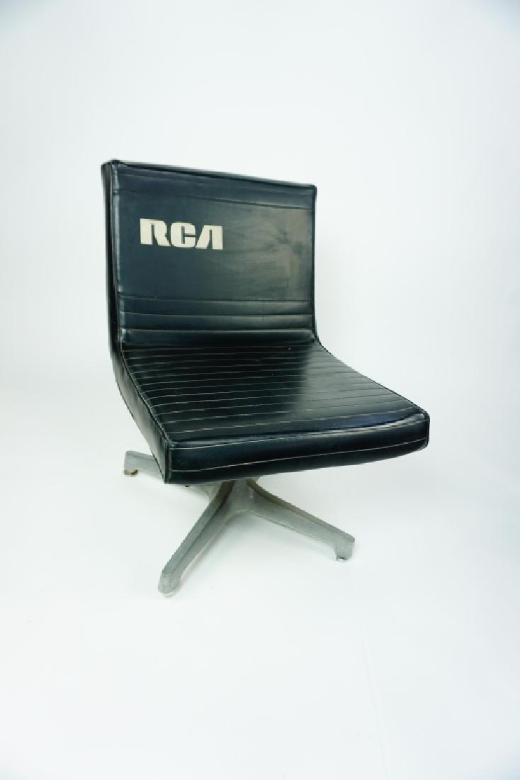 RCA BLACK VINYL CHAIR - 2