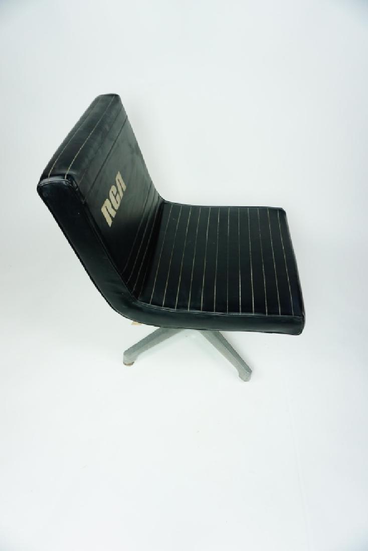 RCA BLACK VINYL CHAIR - 4