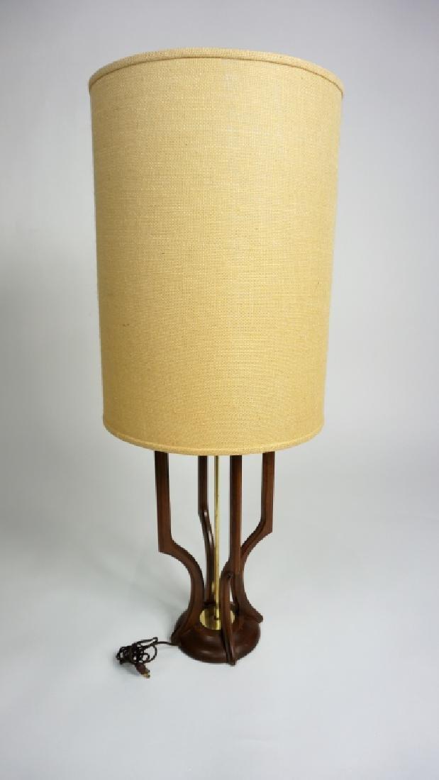 MID-CENTURY MODERN ADRIAN PEARSALL TEAKWOOD LAMP