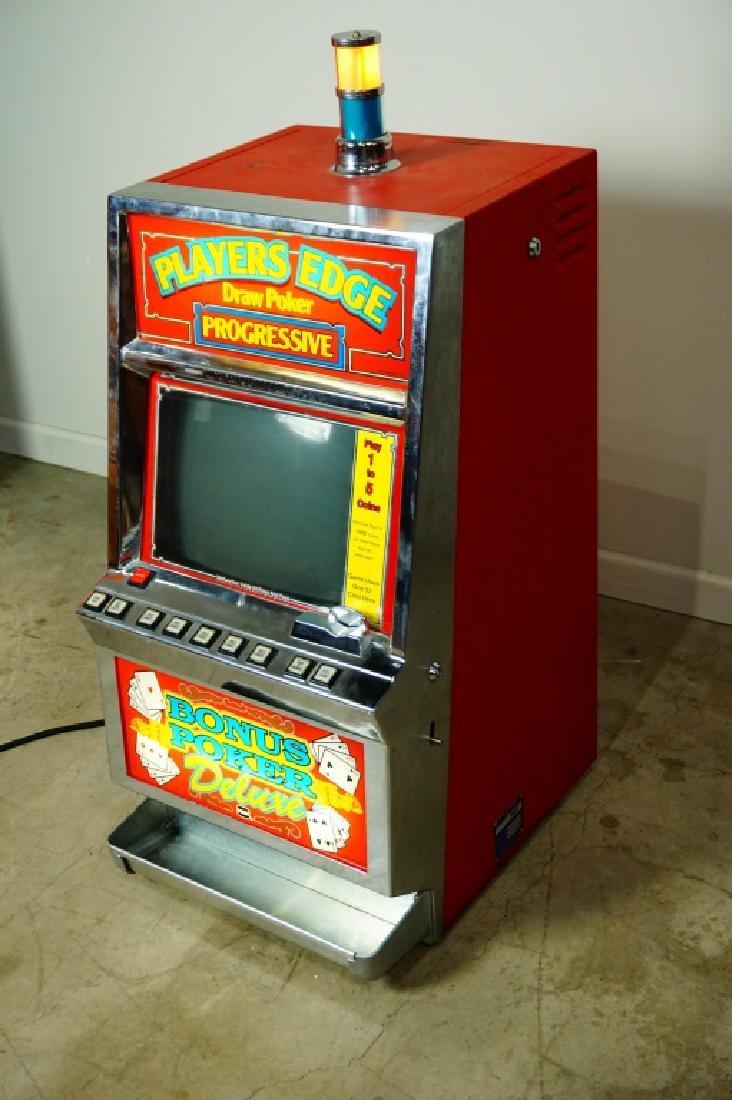 PLAYER EDGE DRAW POKER PROGRESSIVE MACHINE - 2