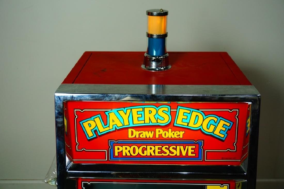 PLAYER EDGE DRAW POKER PROGRESSIVE MACHINE - 3