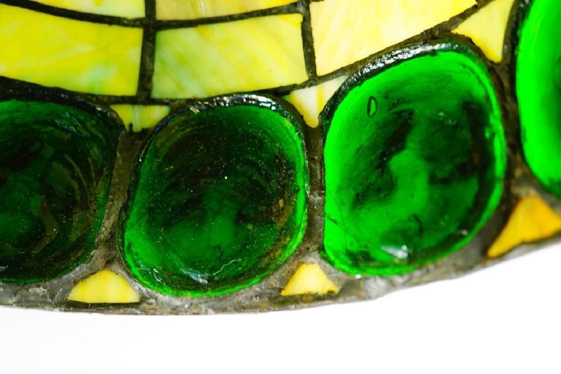 TURTLEBACK STYLE LEADED GLASS SHADE - 8