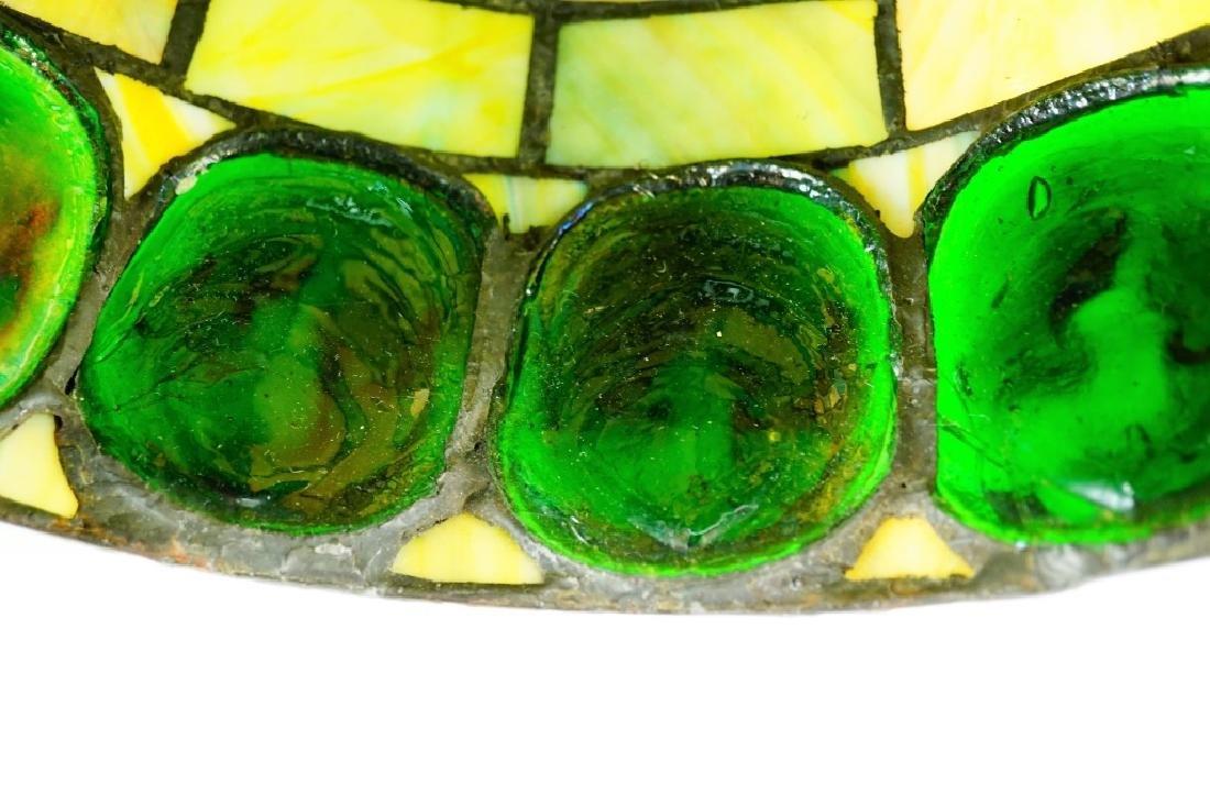 TURTLEBACK STYLE LEADED GLASS SHADE - 9
