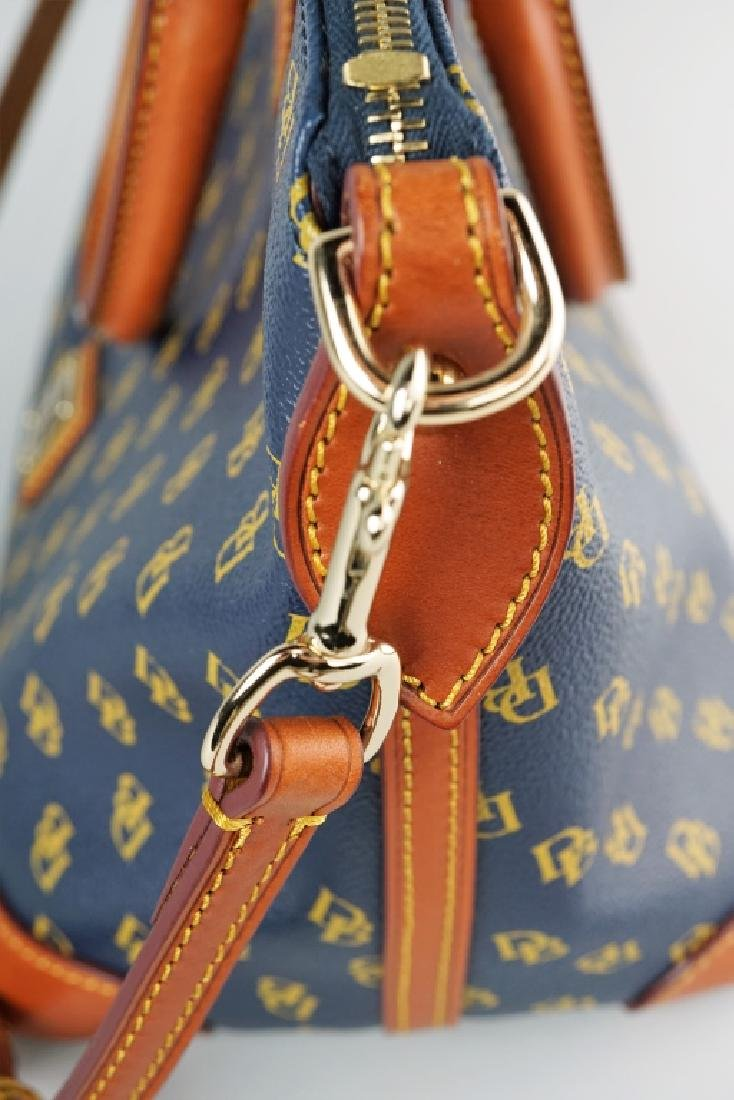 NAVY BLUE DOONEY & BOURKE HANDBAG - 10