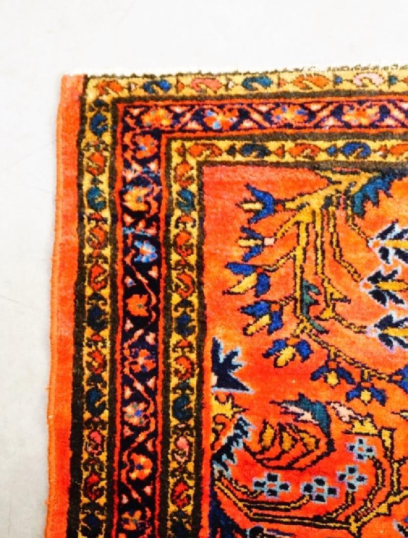 ANTIQUE PERSIAN LILIHAN THROW RUG - 3