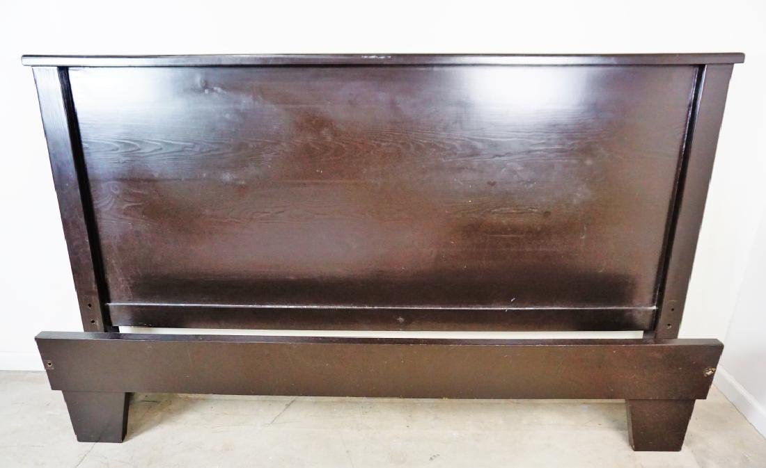 KING SIZE BED EBONY FINISH