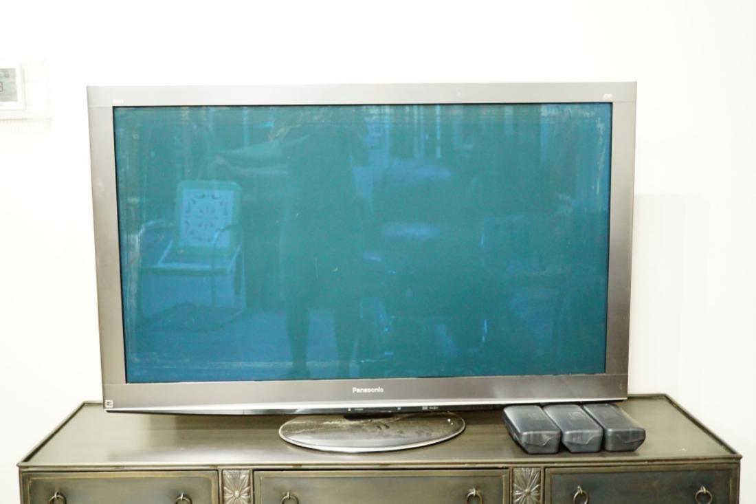 """50"""" PANASONIC 3D PLASMA TV MODEL TC-P5OVT20"""