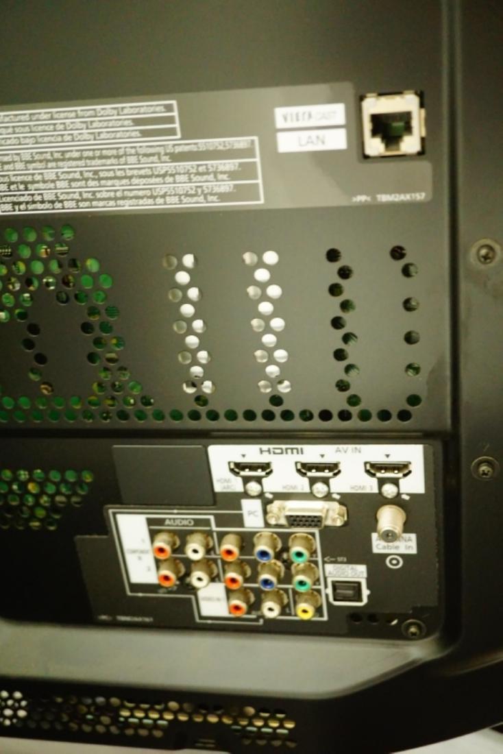 """50"""" PANASONIC 3D PLASMA TV MODEL TC-P5OVT20 - 6"""
