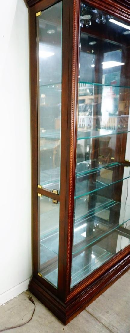 CHERRY SIDE ENTRY DISPLAY CABINET - 3