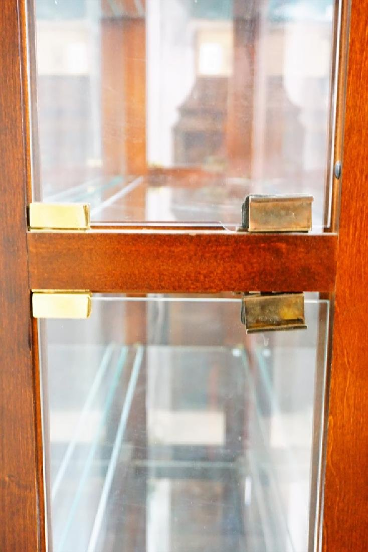 CHERRY SIDE ENTRY DISPLAY CABINET - 4