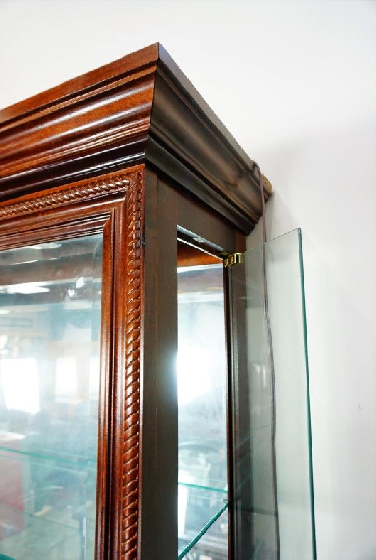 CHERRY SIDE ENTRY DISPLAY CABINET - 6
