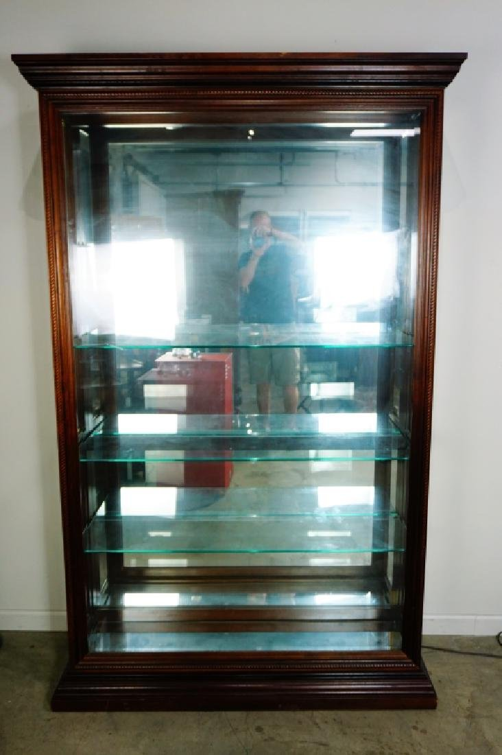 CHERRY SIDE ENTRY DISPLAY CABINET - 2