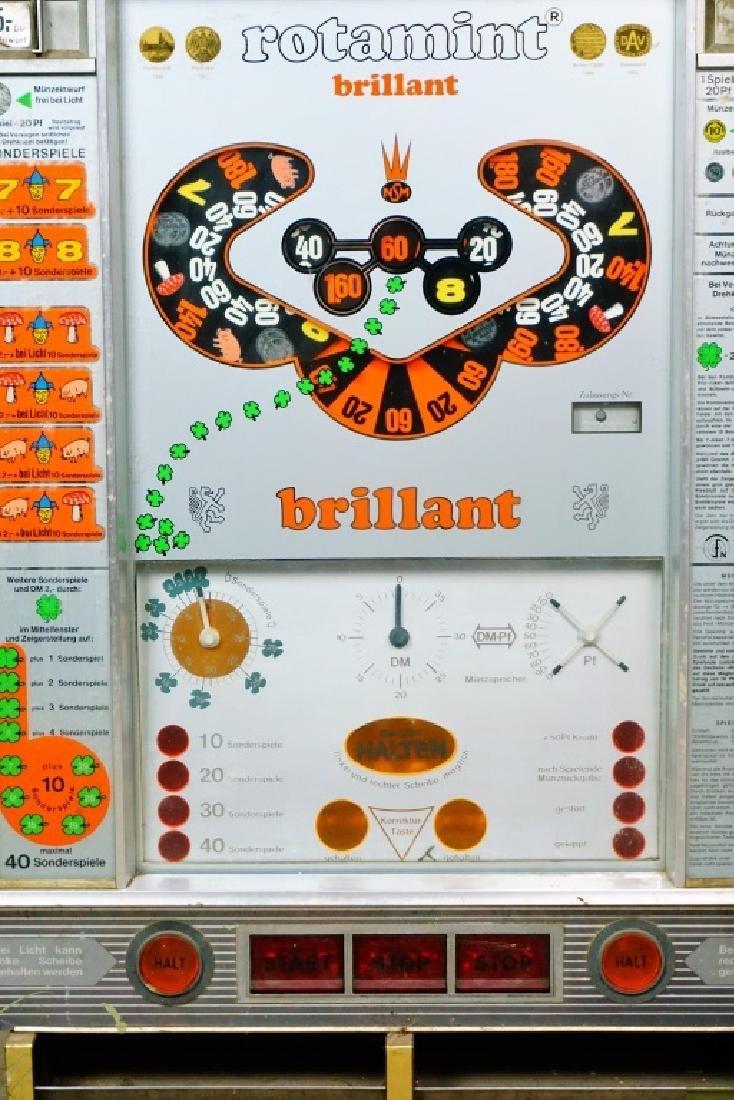 ROTAMINT BRILLANT GERMAN SLOT MACHINE - 4