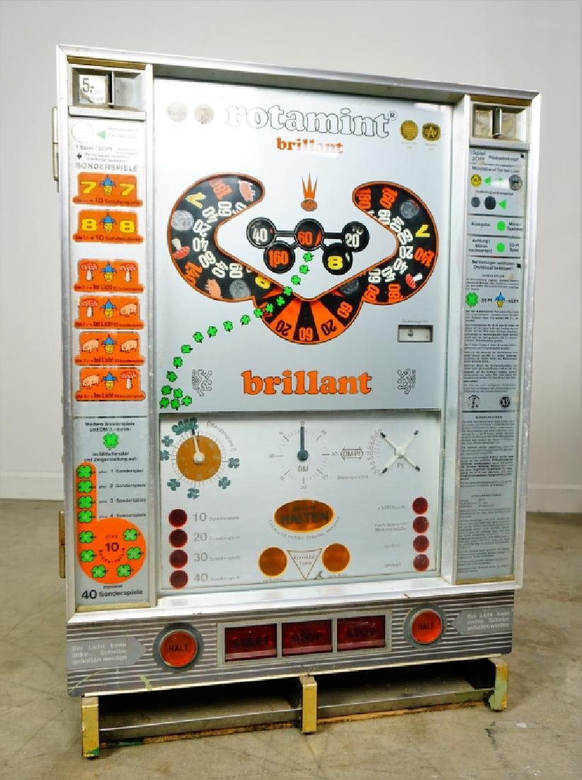 ROTAMINT BRILLANT GERMAN SLOT MACHINE - 5