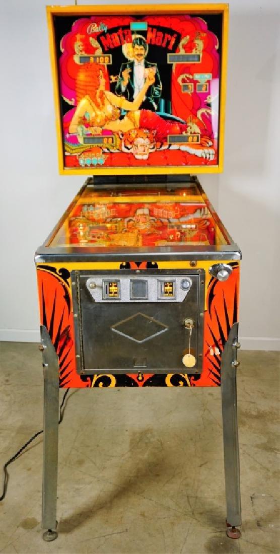 BALLY MATA HARI PINBALL MACHINE (1978)