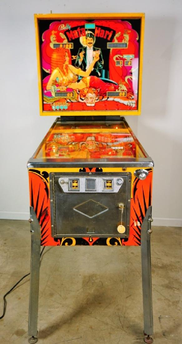 BALLY MATA HARI PINBALL MACHINE (1978) - 3