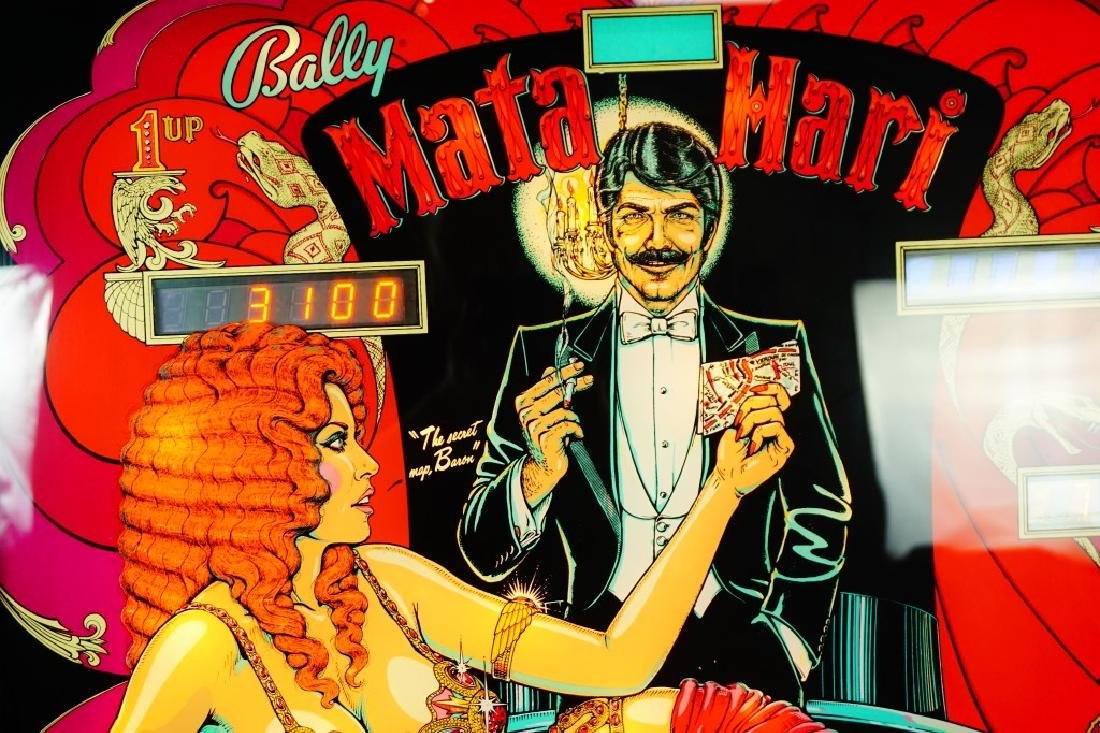 BALLY MATA HARI PINBALL MACHINE (1978) - 5