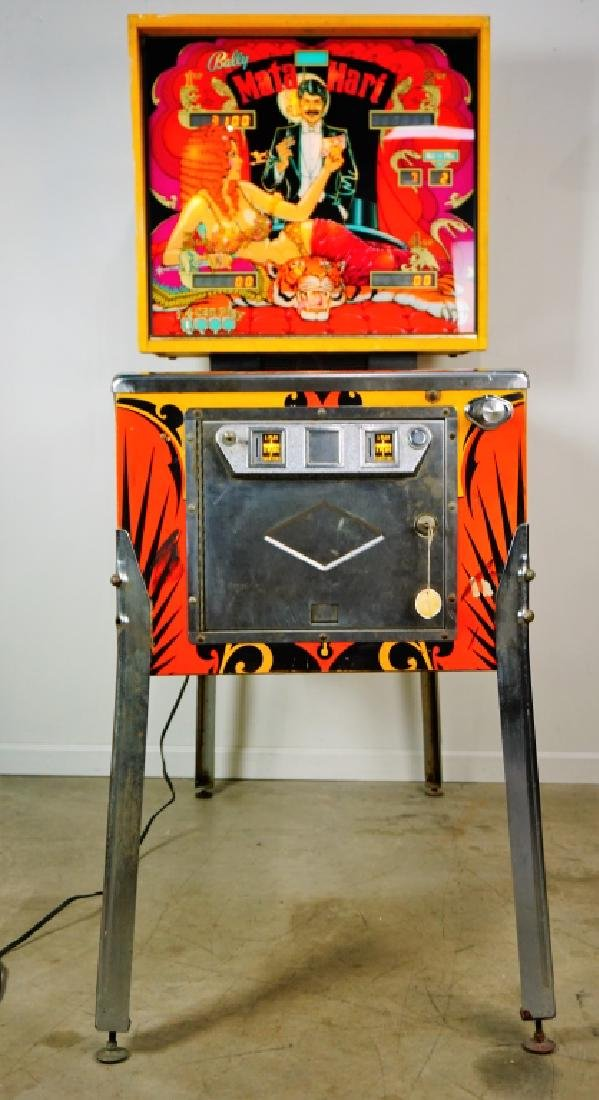 BALLY MATA HARI PINBALL MACHINE (1978) - 8