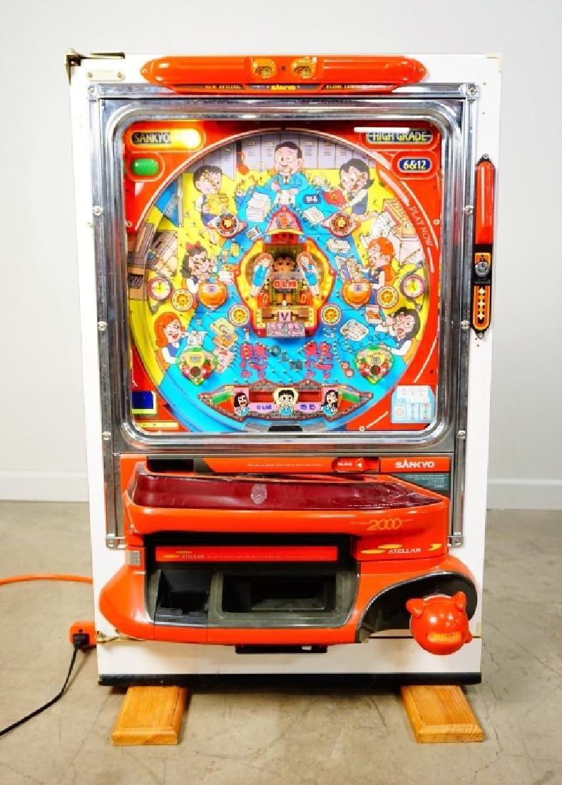 PACHINKO SANKYO STELLAR MACHINE NEW MODEL 2000