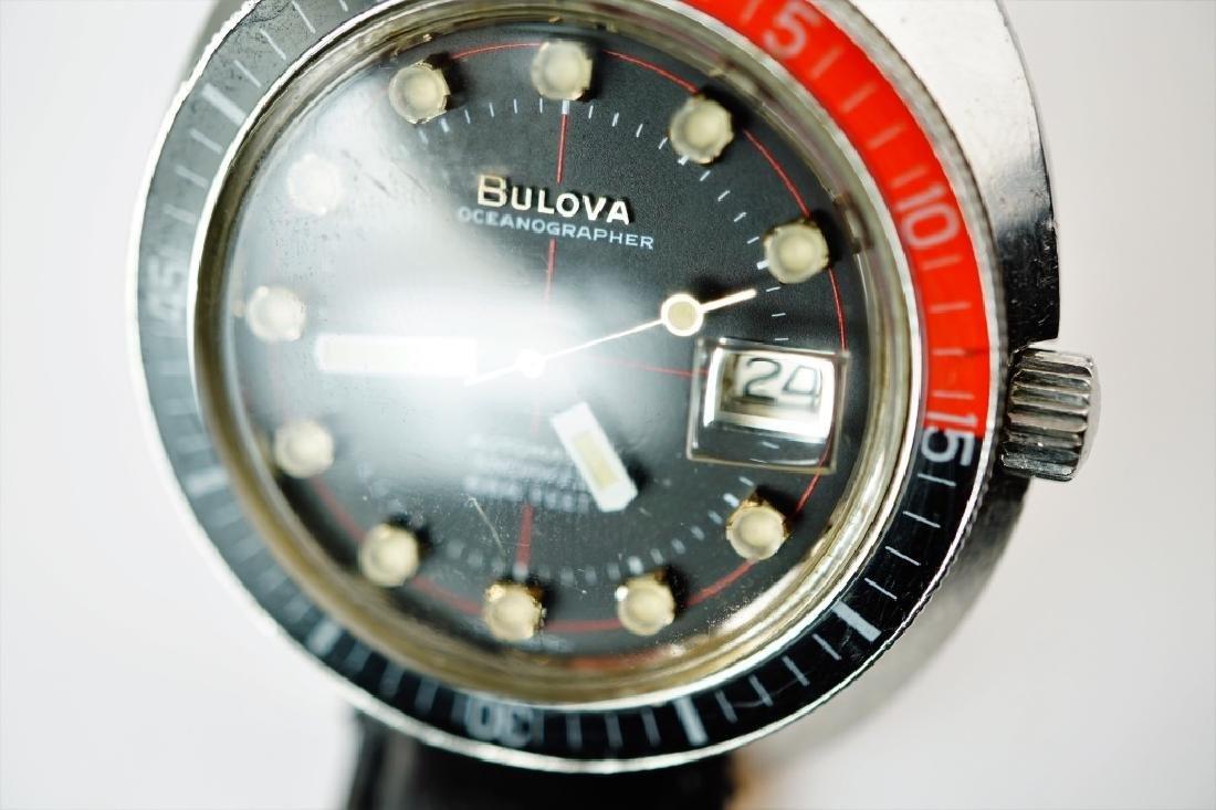 BULOVA OCEANOGRAPHER SNORKEL 666' DIVER WATCH - 10