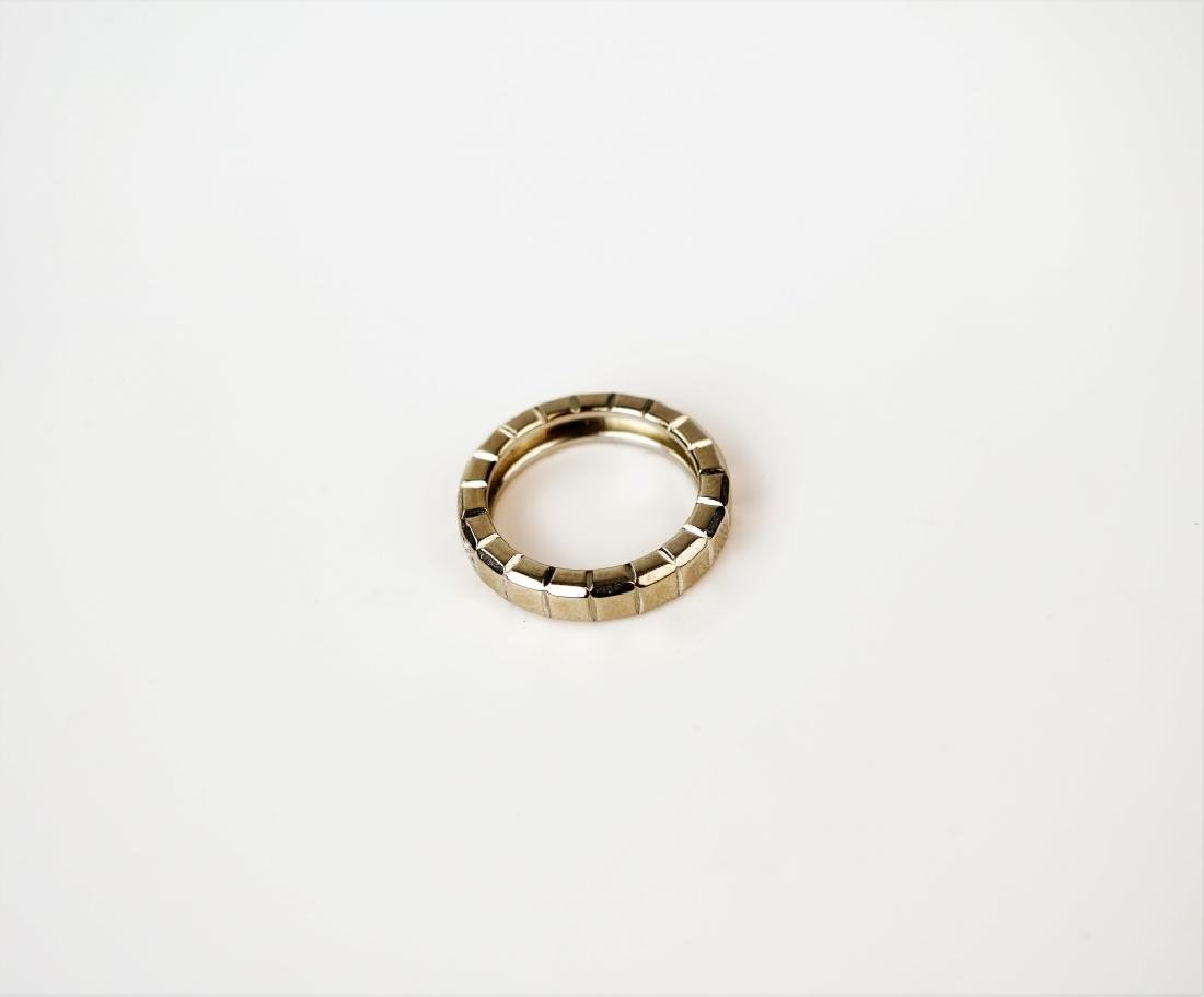 CHOPARD 18K GOLD & DIAMOND ICE CUBE RING