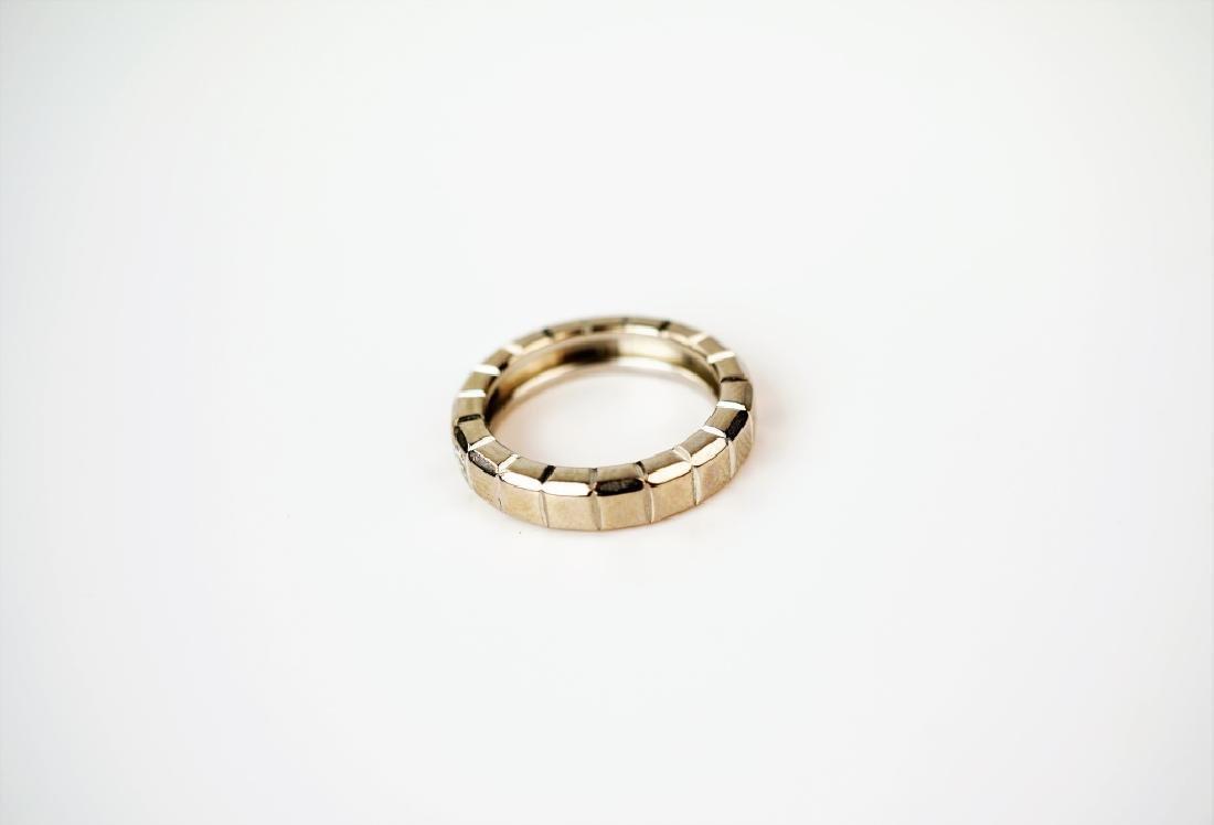 CHOPARD 18K GOLD & DIAMOND ICE CUBE RING - 2
