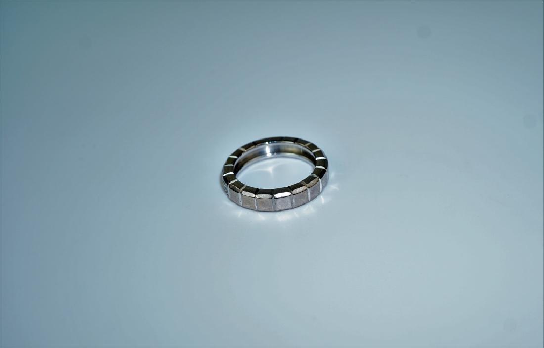 CHOPARD 18K GOLD & DIAMOND ICE CUBE RING - 3