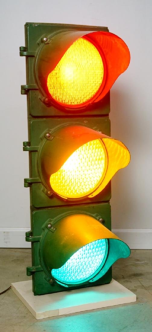MARBELITE 3 LIGHT TRAFFIC LIGHT SIGNAL