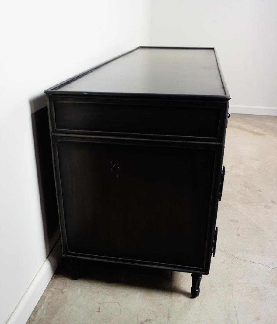 STEEL FLAT TV STAND/ENTERTAINMENT CENTER - 6