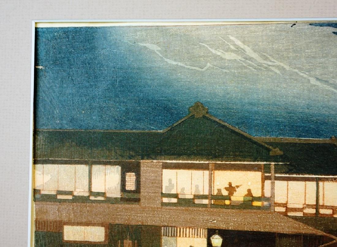 KOBAYASHI KIYOCHIKA (JAPANESE,1847-1915) WOODBLOCK - 3