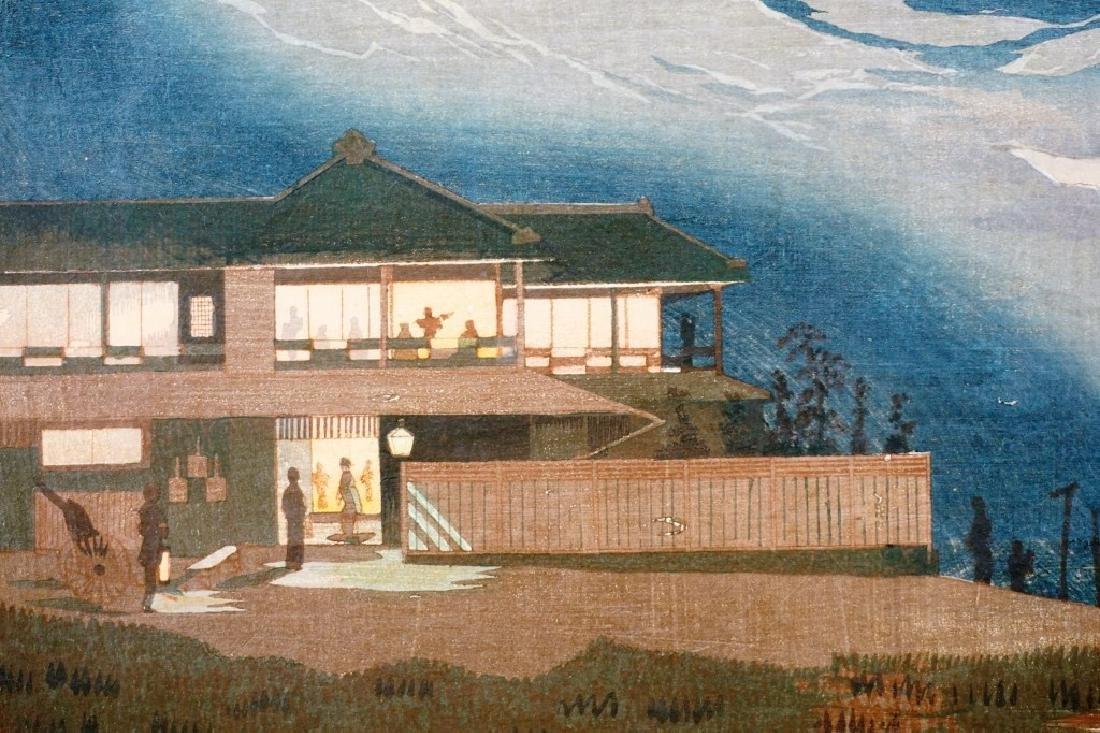 KOBAYASHI KIYOCHIKA (JAPANESE,1847-1915) WOODBLOCK - 6