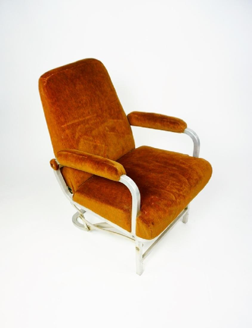 MID CENTURY COLLAPSABLE ARM CHAIR - 2