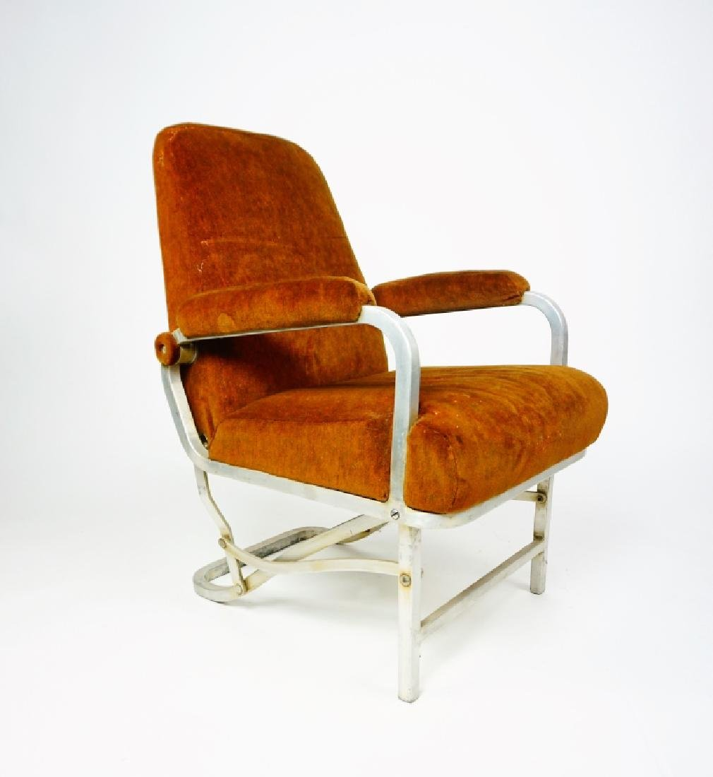 MID CENTURY COLLAPSABLE ARM CHAIR - 3