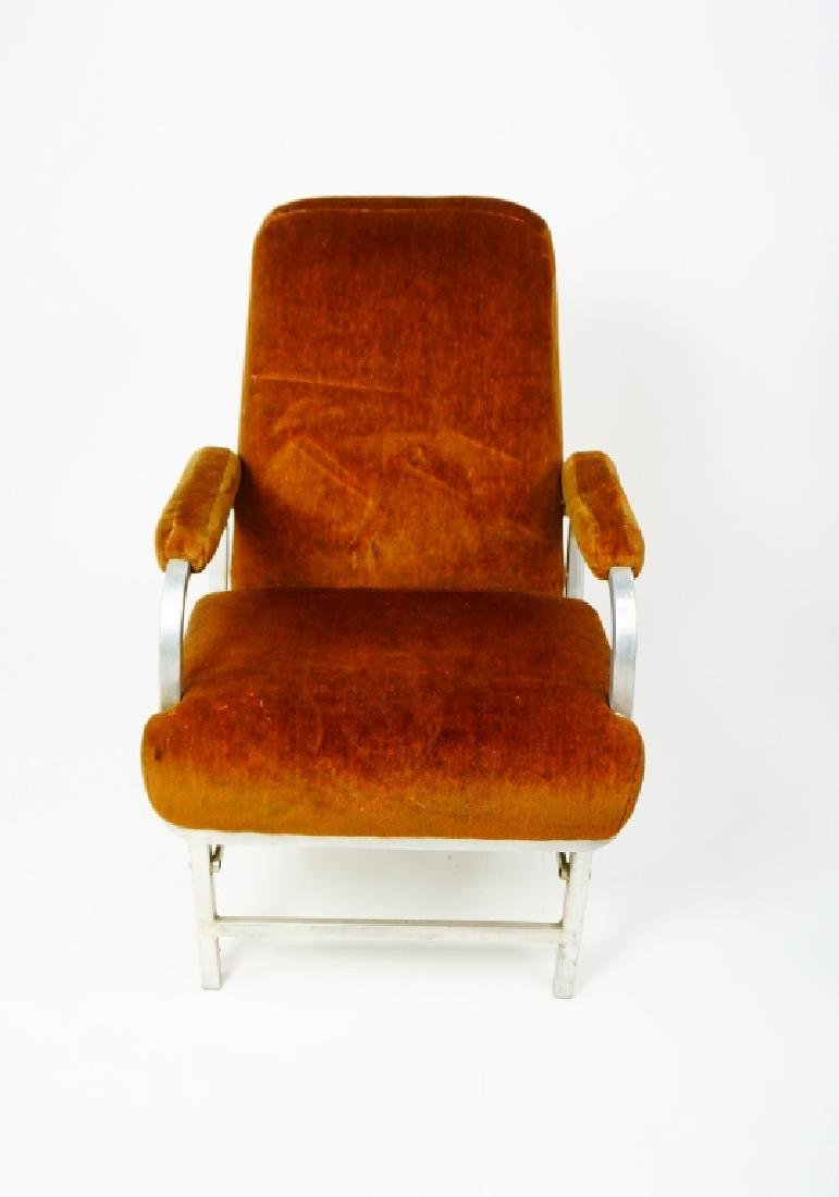 MID CENTURY COLLAPSABLE ARM CHAIR - 4