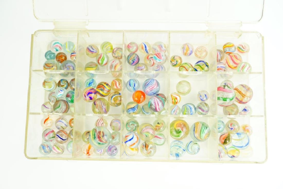 (102) ASSORTED GERMAN HANDMADE MARBLES - 6