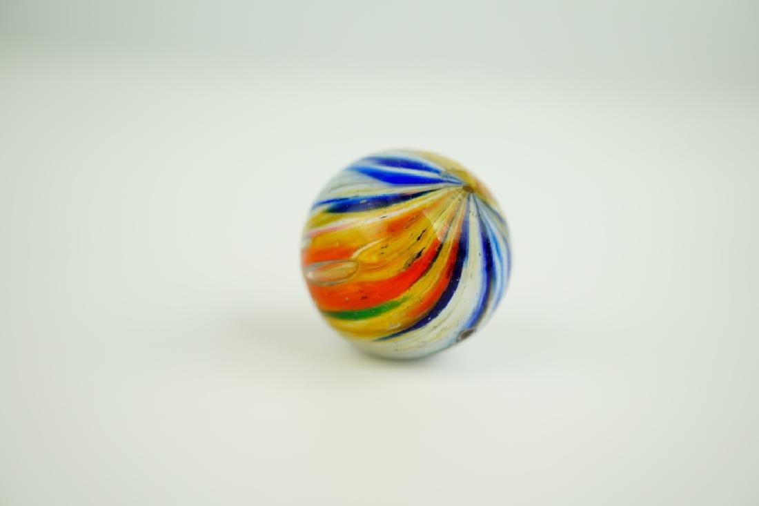 (6) ASSORTED GERMAN HANDMADE GLASS MARBLES - 5