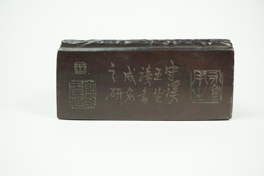 VINTAGE SUZURI CALLIGRAPHY SUMI INK GRINDING STONE - 6