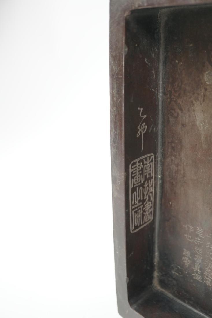 VINTAGE SUZURI CALLIGRAPHY SUMI INK GRINDING STONE - 9