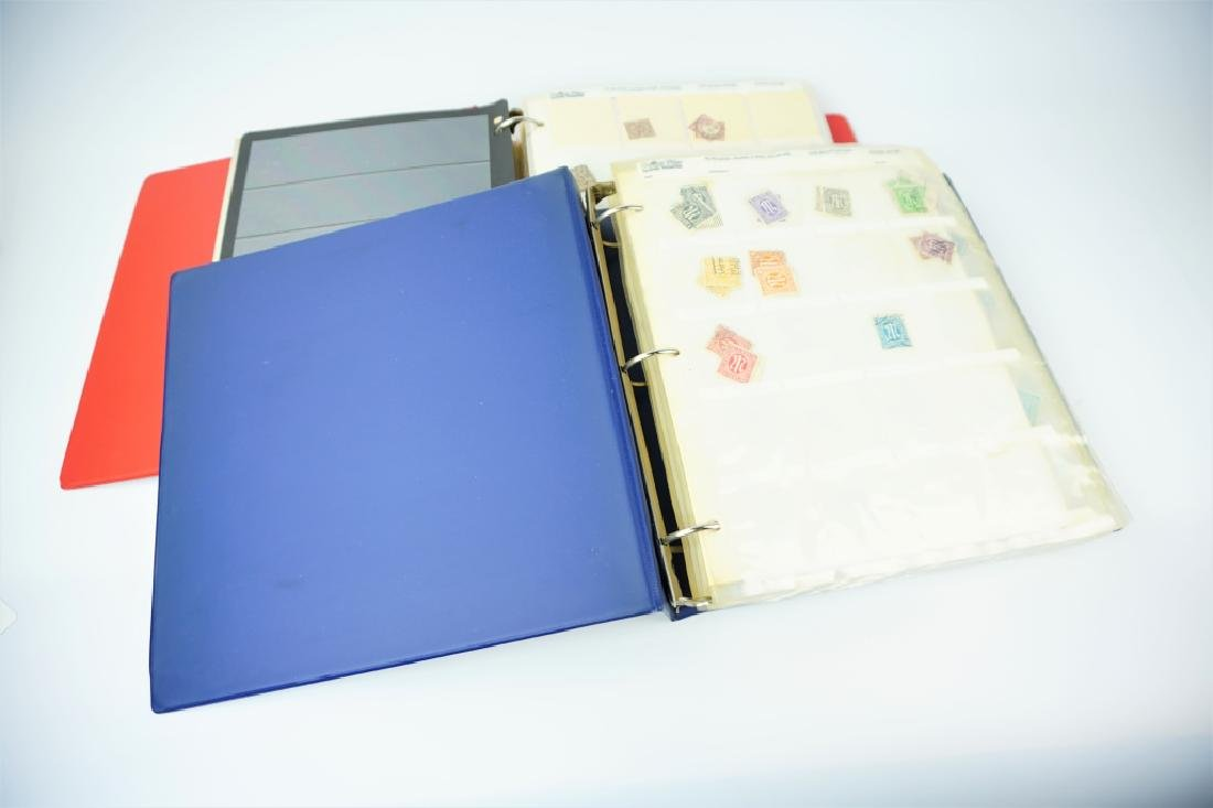 (2) GERMAN STAMP ALBUMS 1500+ STAMPS - 2