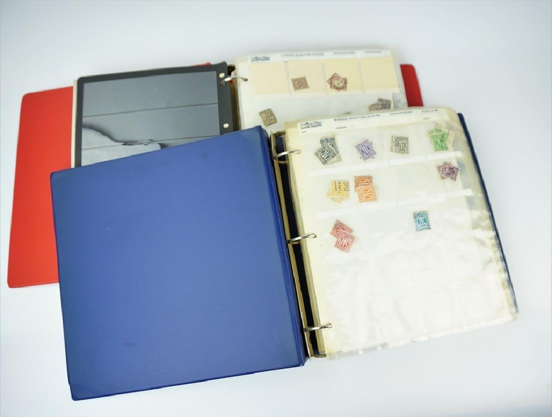(2) GERMAN STAMP ALBUMS 1500+ STAMPS - 3