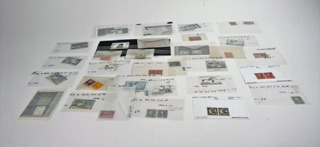 ASSORTED VINTAGE AND ANTIQUE STAMPS