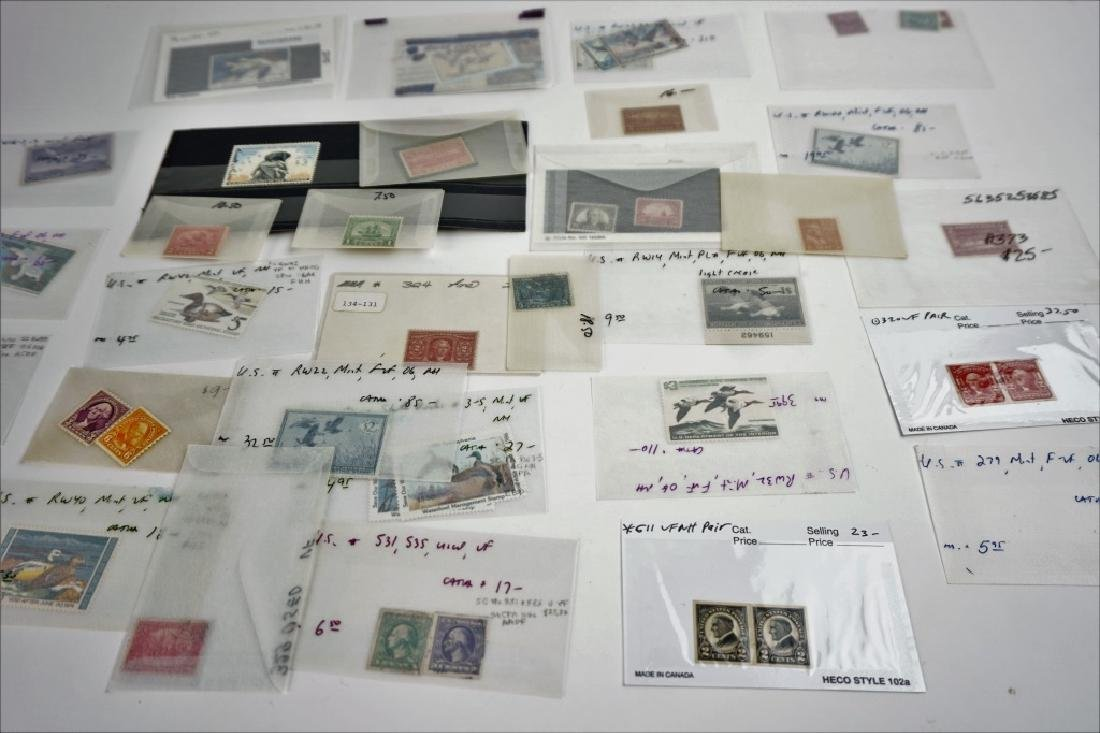 ASSORTED VINTAGE AND ANTIQUE STAMPS - 2