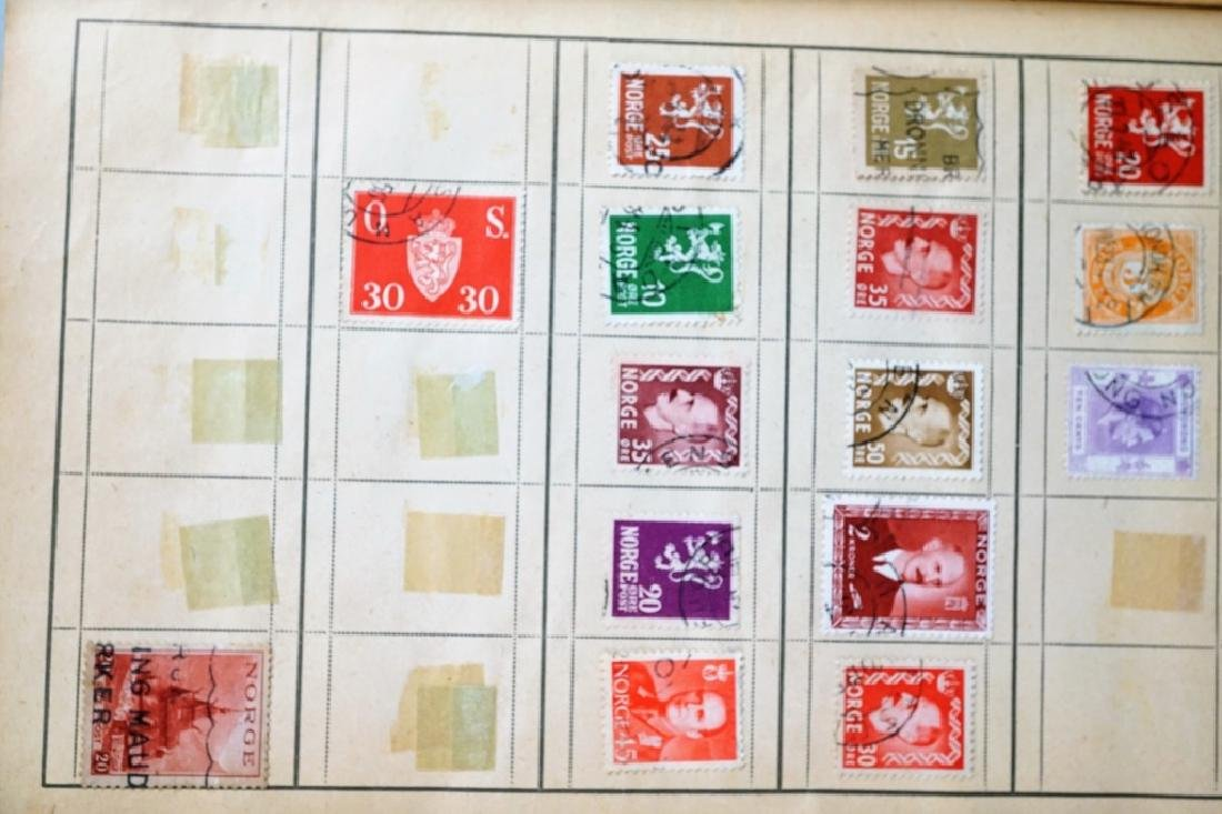 ASSORTED ANTIQUE FOREIGN AND DOMESTIC STAMPS - 3