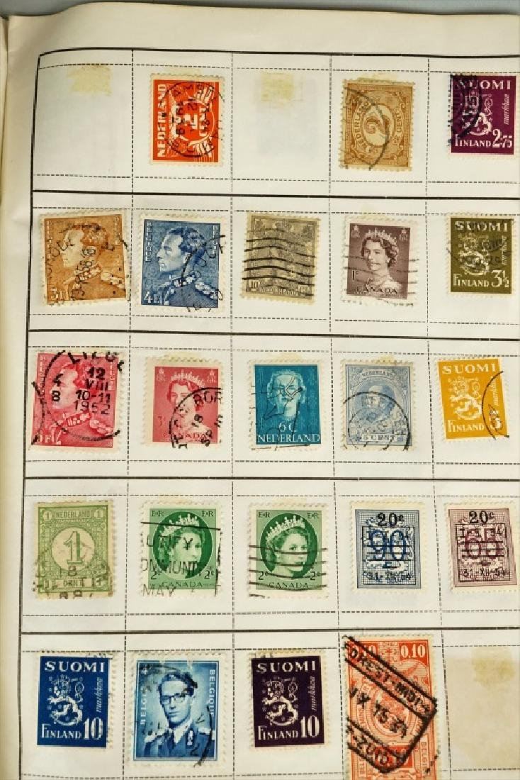 ASSORTED ANTIQUE FOREIGN AND DOMESTIC STAMPS - 4