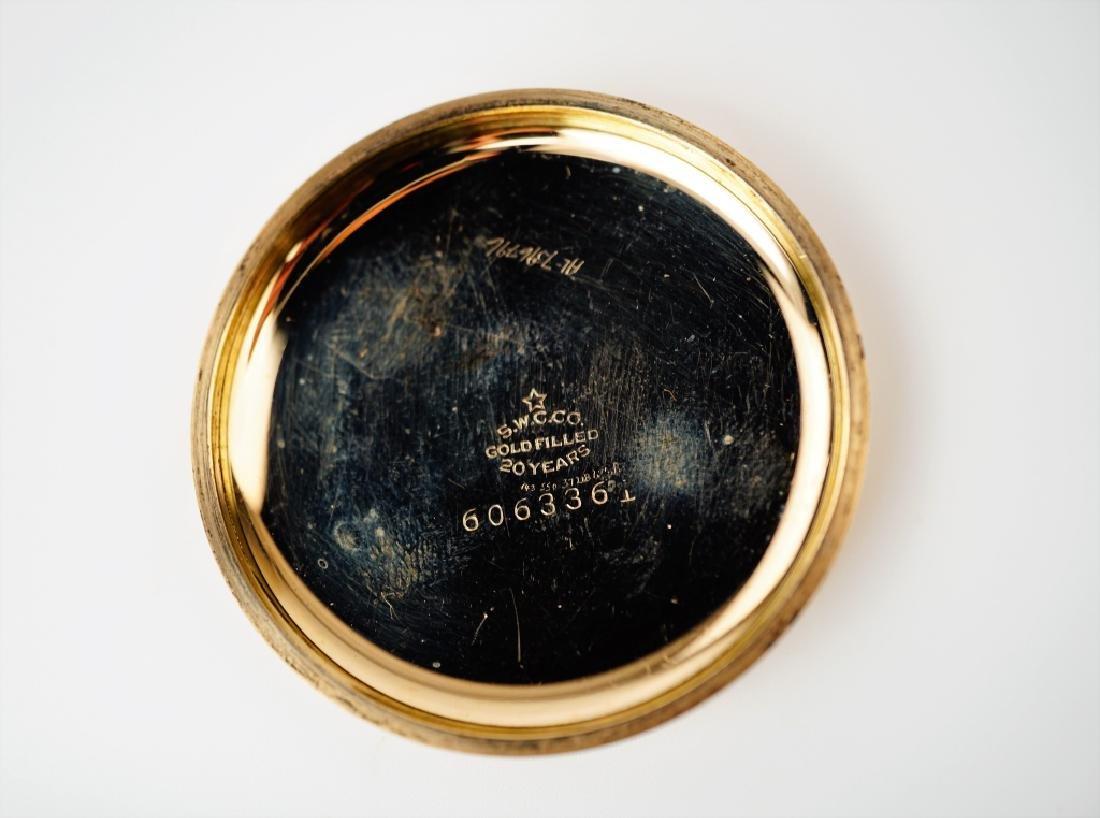 VACHERON & CONSTANTIN GOLD FILLED POCKET WATCH - 10