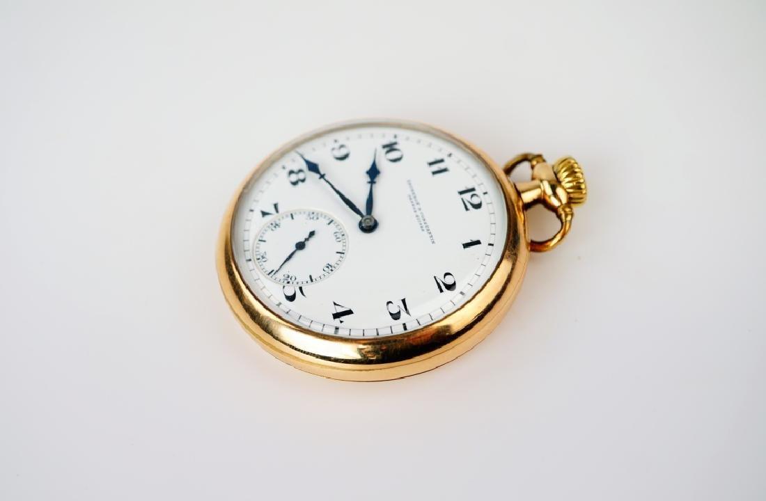 VACHERON & CONSTANTIN GOLD FILLED POCKET WATCH - 2