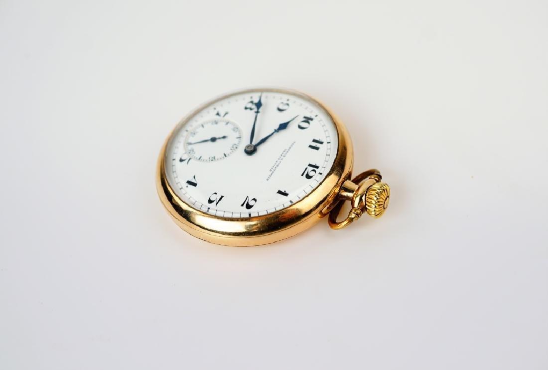 VACHERON & CONSTANTIN GOLD FILLED POCKET WATCH - 3