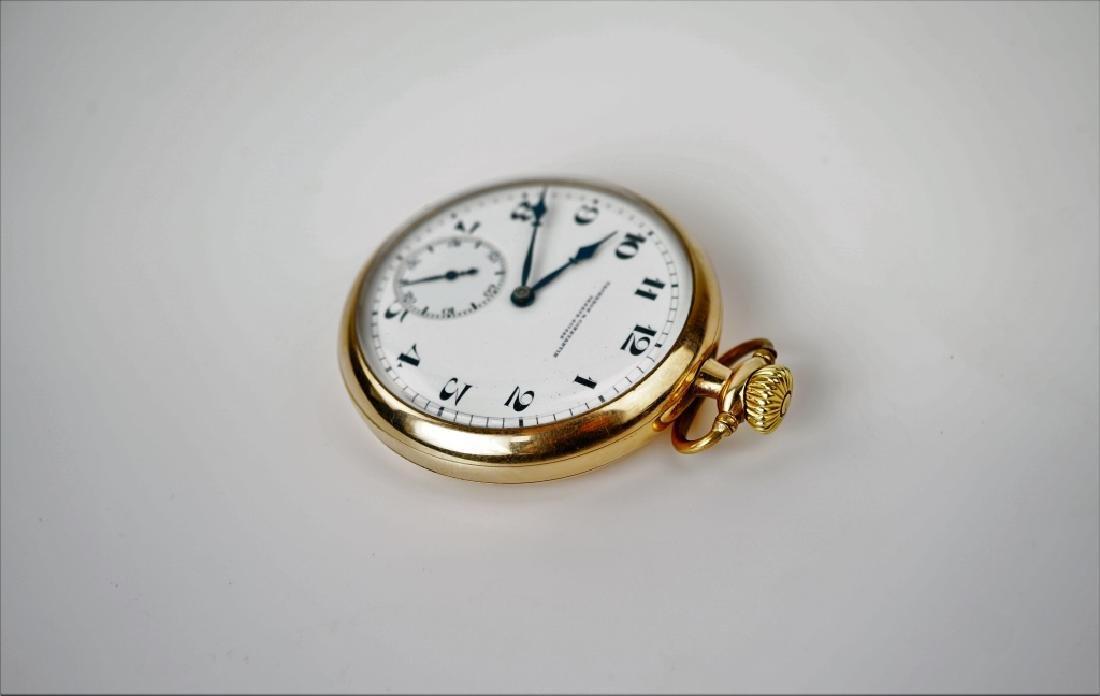 VACHERON & CONSTANTIN GOLD FILLED POCKET WATCH - 4