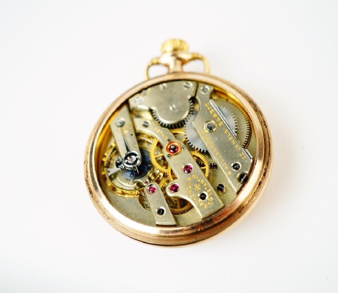 VACHERON & CONSTANTIN GOLD FILLED POCKET WATCH - 7