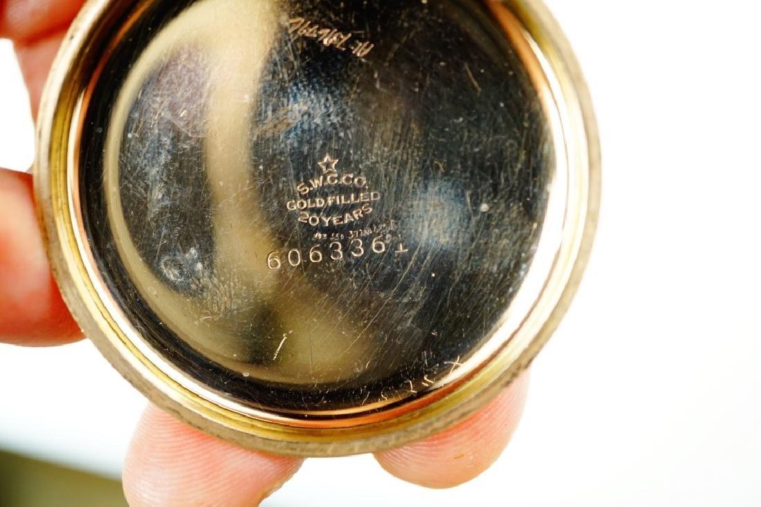 VACHERON & CONSTANTIN GOLD FILLED POCKET WATCH - 9